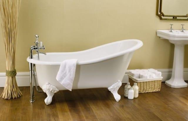 banheira estilo antigo