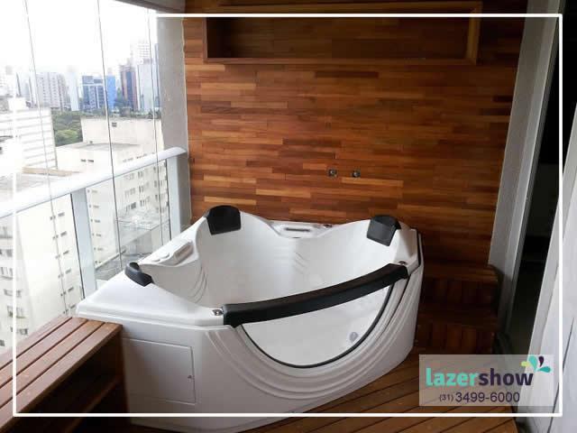 banheira de imersão-sacada