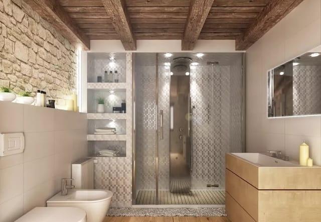 banheiro materias primas brutas