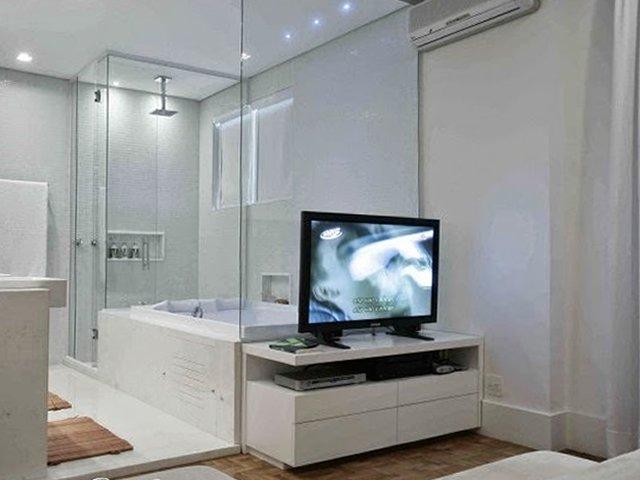 quarto classico com banheira