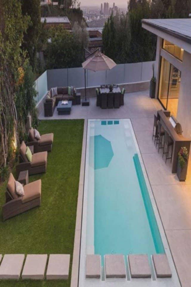 areas-de-lazer-de-piscina com raia