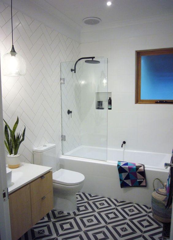 banheira com chuveiro