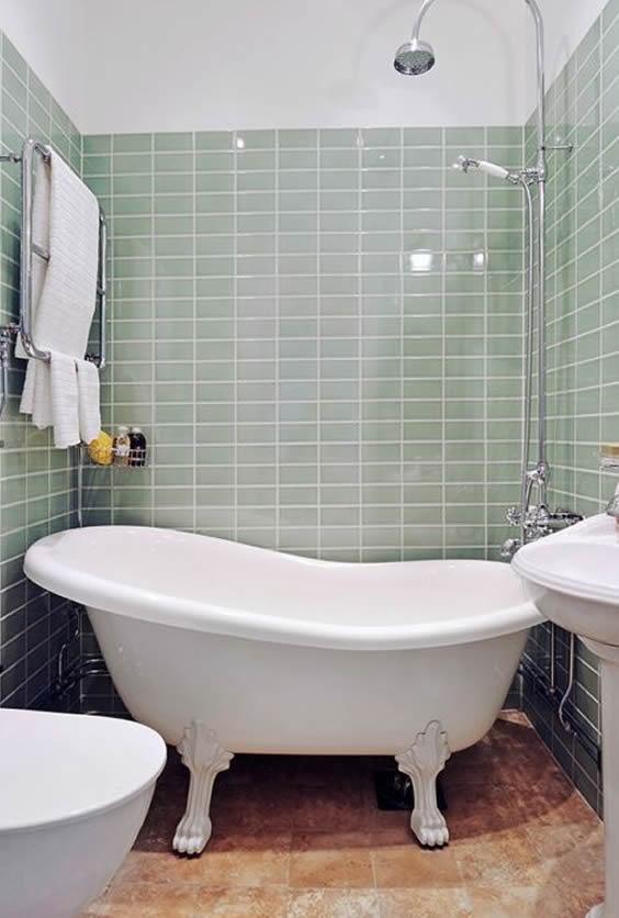 banheira slipper com ducha