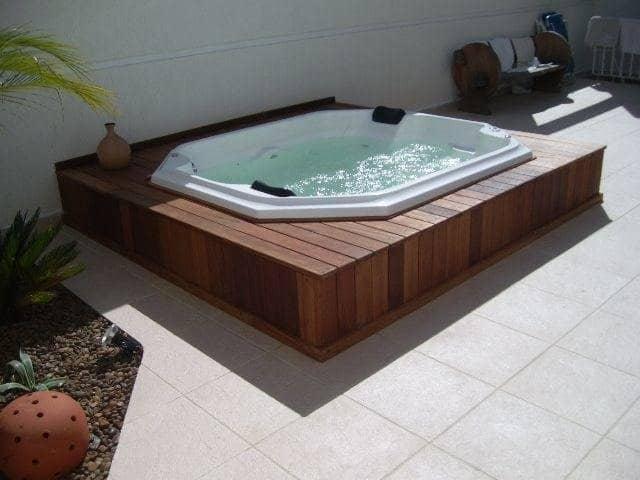 banheira spa reduz o stress