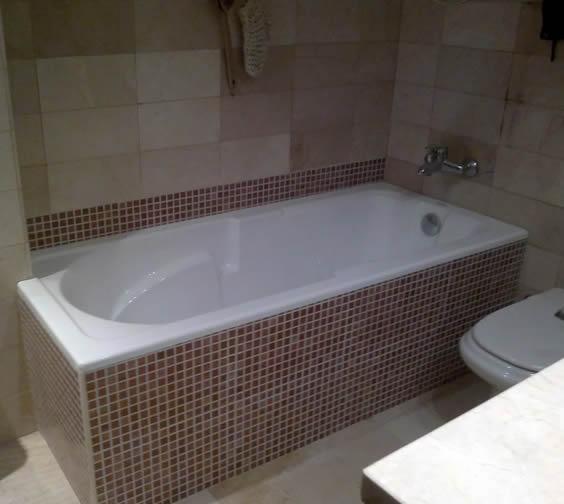 banho com banheira