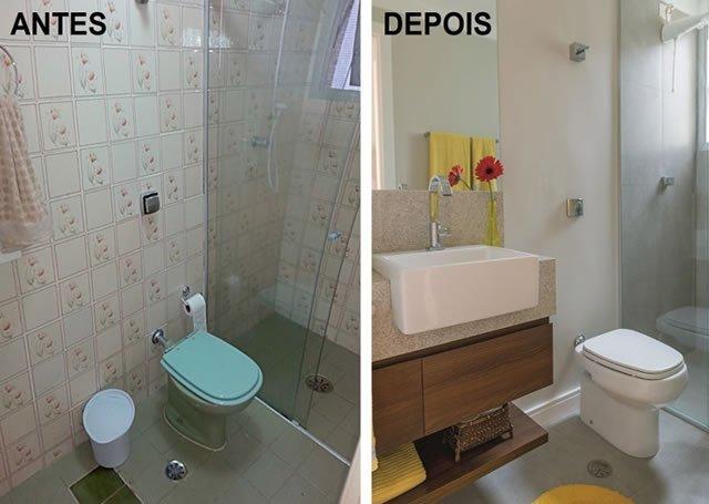 cores da parede e piso do banheiro