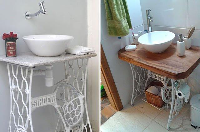 tampo de madeira para banheiro