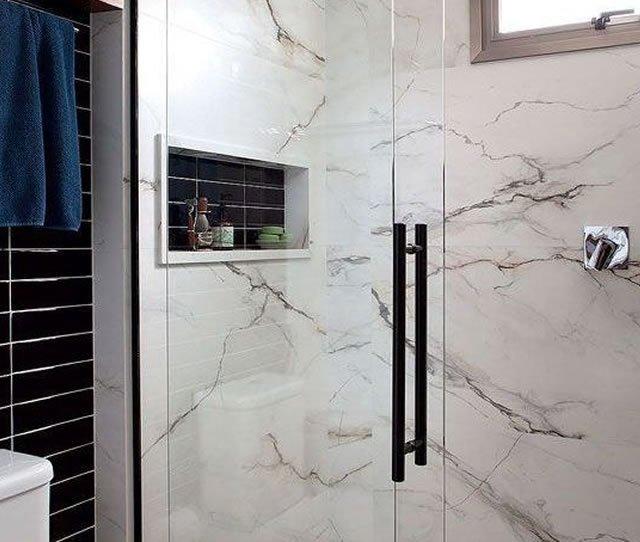 granito no banheiro